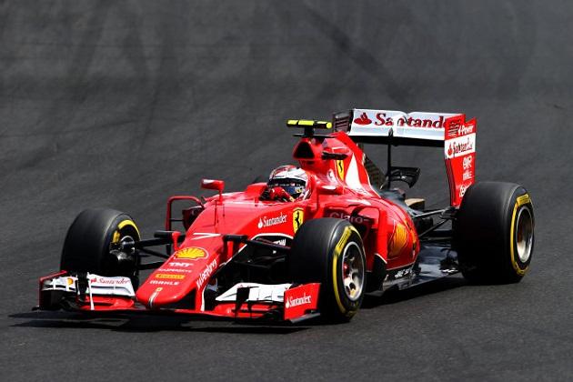 フェラーリ、2016年もキミ・ライコネンとの契約を継続