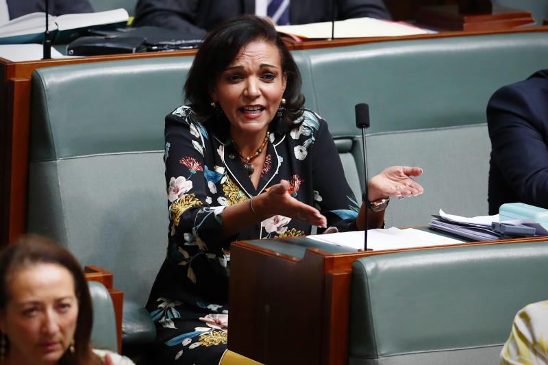 Labor MP Anne Aly is not liking what she is hearing as Prime Minister Malcolm Turnbull speaks on