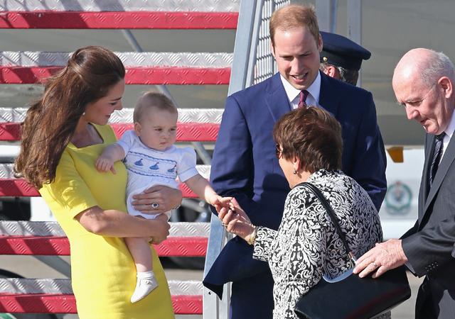 Kate Middleton Prince William Prince George