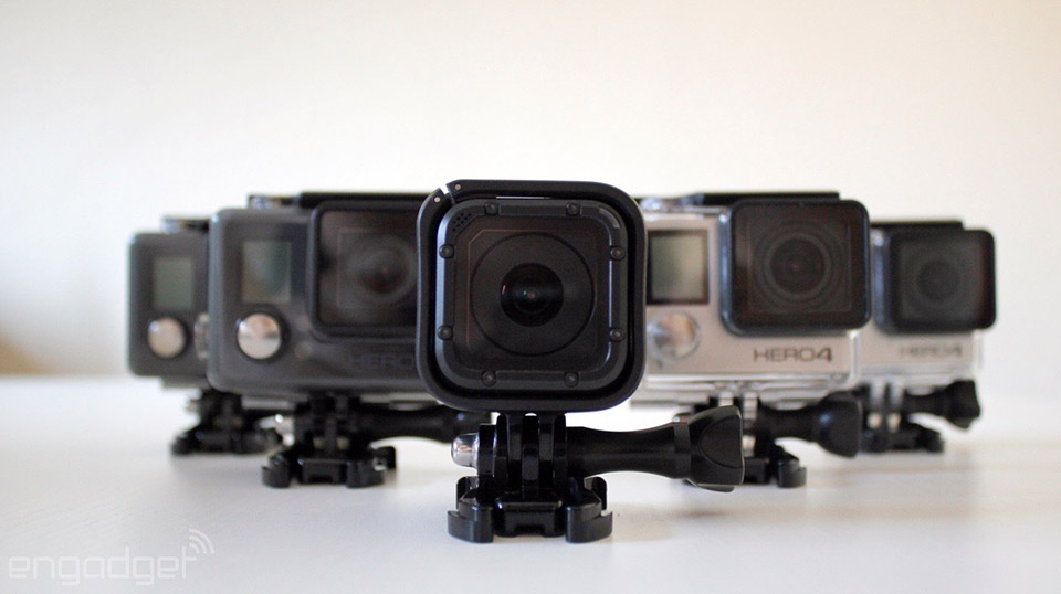 GoPro 砍掉 Hero 平价系列,Hero5 将主打「连线」功能