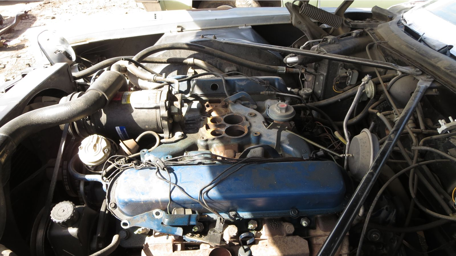 Cadillac 500-cubic-inch V8 engine in 1973 Eldorado