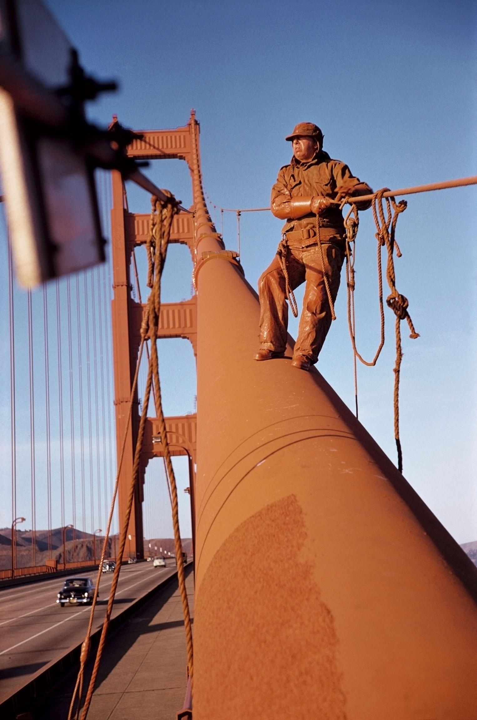 USA. San Francisco, California. 1953. Golden Gate
