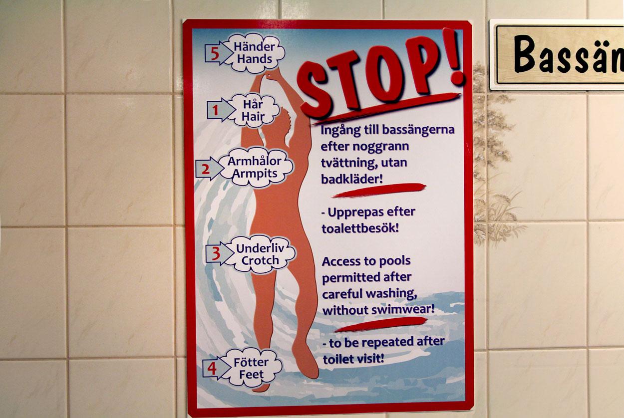 Nudité dans les vestiaires: compte-rendu d'une expérience