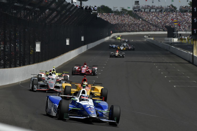 Verizon IndyCar SeriesIndianapolis 500 RaceIndianapolis Motor Speedway, Indianapolis, IN USASunday 28 May 2017Takuma Sato, Andretti Autosport HondaWorld Copyright: Scott R LePageLAT Imagesref: Digital Image lepage-170528-indy-14349
