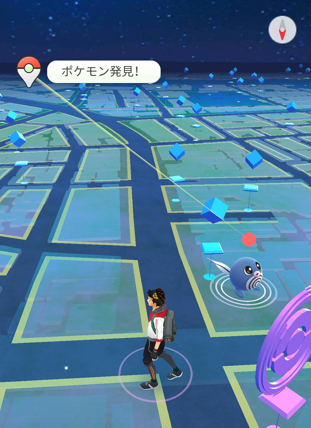 ポケモンgoが0.39へ更新、ポケモン捕獲場所の確認が可能に。googleマップ