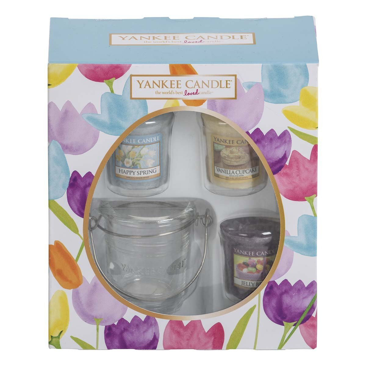 Six non edible easter gifts for kids aol one for older girls and grown ups this yankee candle easter giftset 898 comes with three different scented candles happy spring jelly bean and negle Choice Image