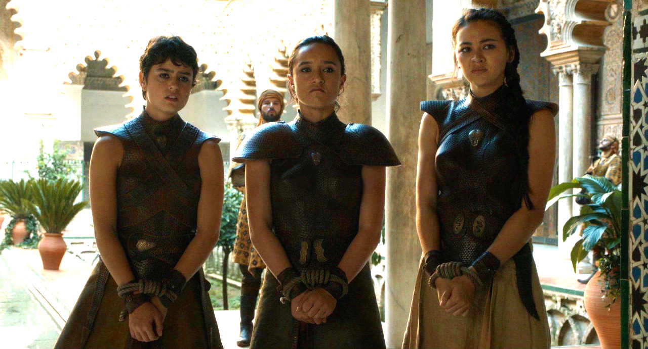 sand snakes on game of thrones