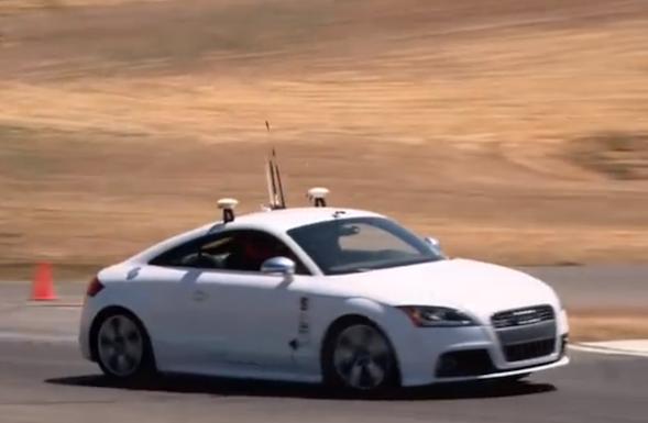 self driving Audi