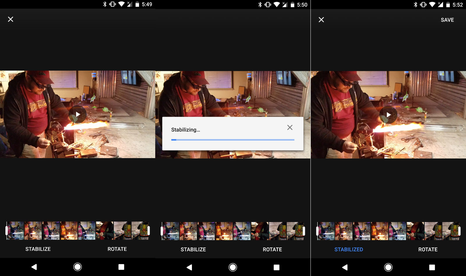 Google Photos will make your shaky videos watchable