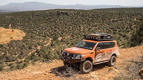 Nissan Amada Mountain Patrol Off-Road Drive