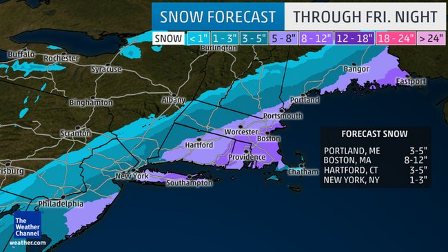 Winter Storm Lexi a quick-hitting snowstorm for East Coast