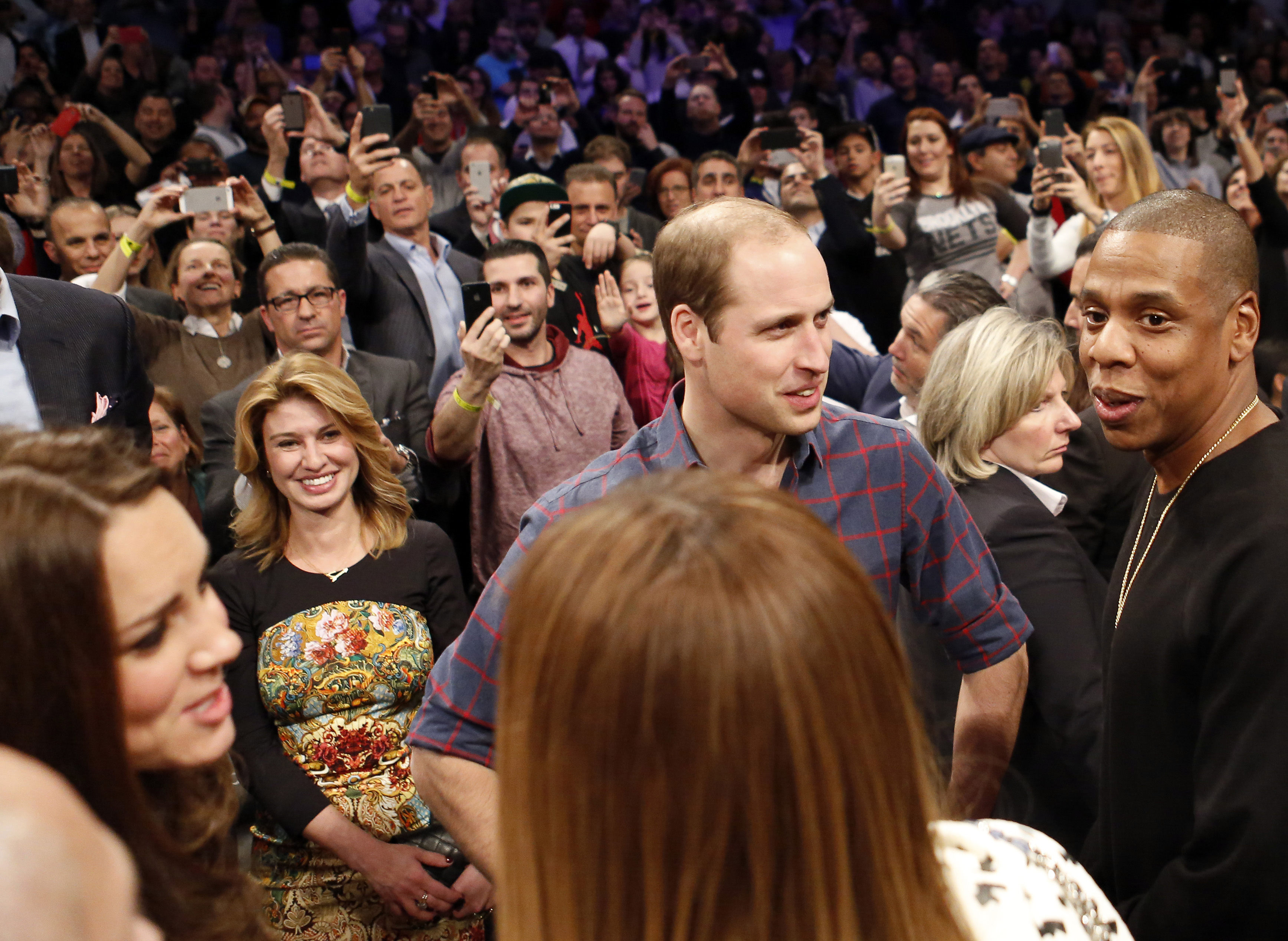 Kate and Beyonce and William and Jay Z