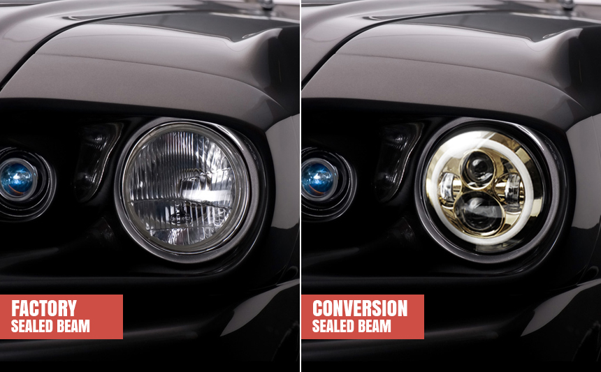 sealed beam comparison 02 a guide to conversions for sealed beam headlights autoblog  at aneh.co