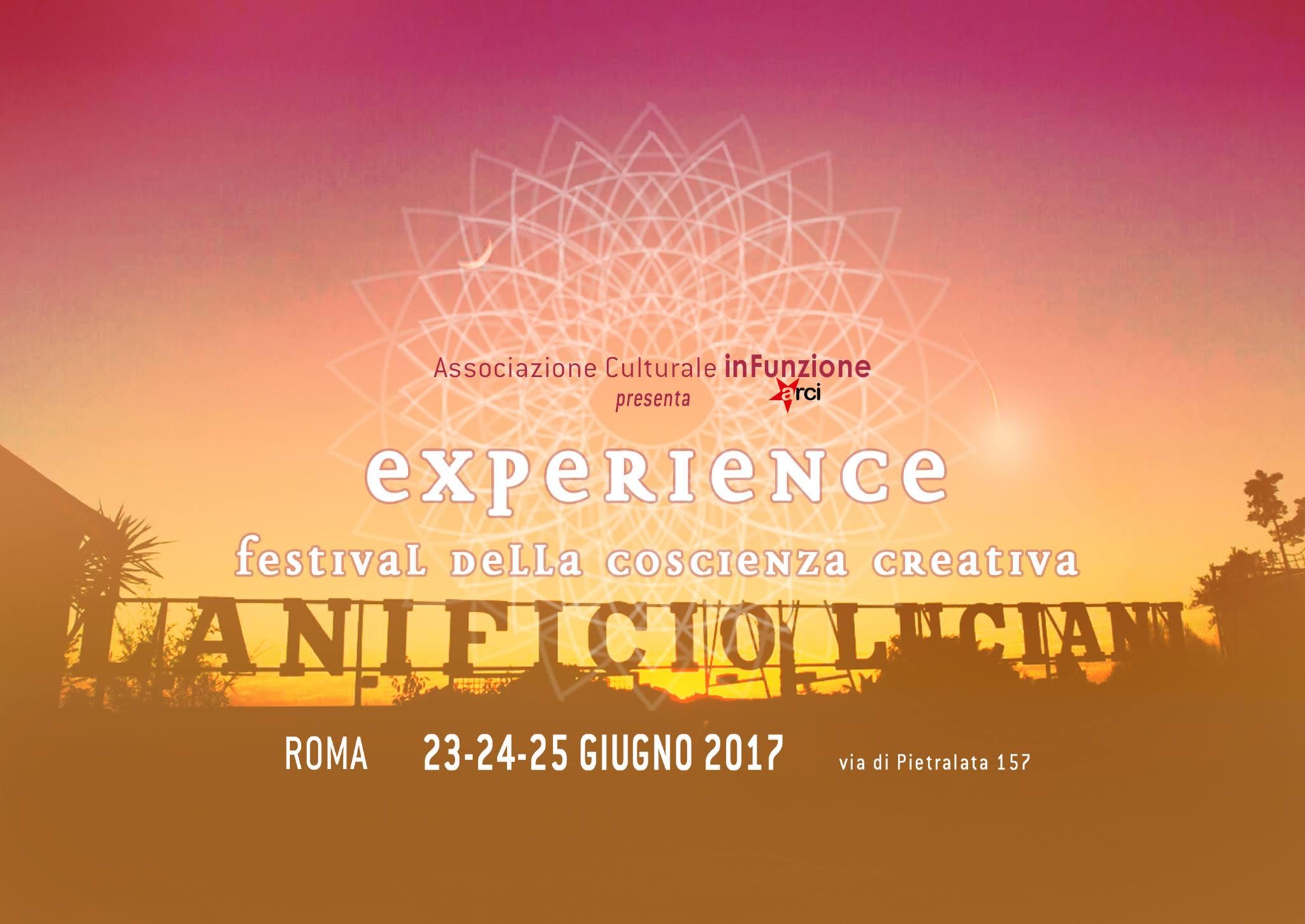 Experience Festival, un weekend di consapevolezza sotto il cielo di