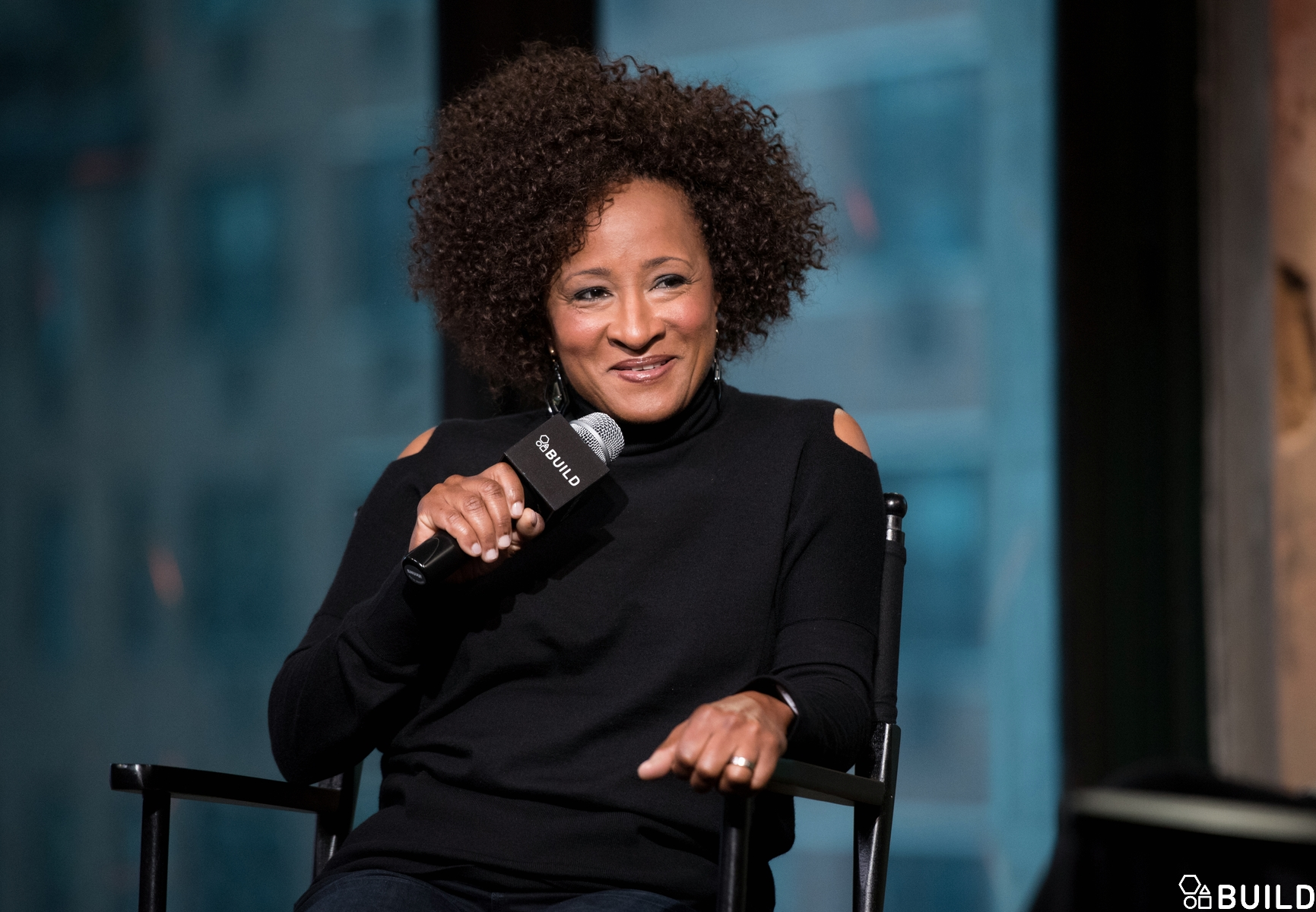 Wanda Sykes visits AOL Hq for Build on April 13, 2016 in New York. Photos by Noam Galai