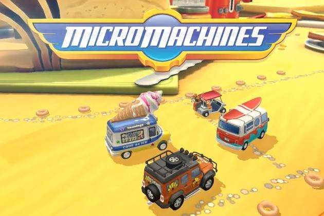 懐かしのマイクロマシーンズが、iOS用ゲームになって復活!