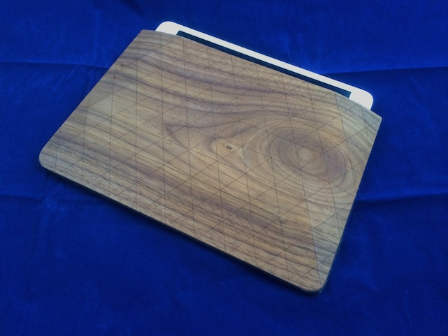 Grovemade Walnut iPad Sleeve (Photo by Steven Sande)