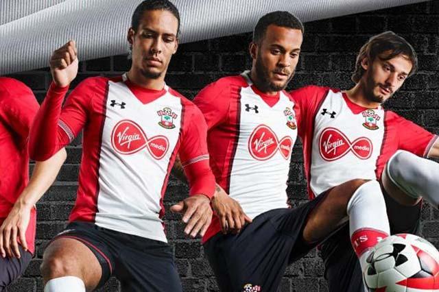 Southampton Home kit 2017/18