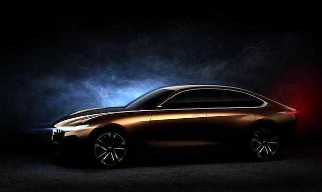 ピニンファリーナ、ハイブリッド・キネティックと共同開発した新しいコンセプトカーの画像を公開
