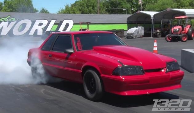 【ビデオ】邪道!? シボレー製LSエンジンを搭載した700馬力のフォード「マスタング」!