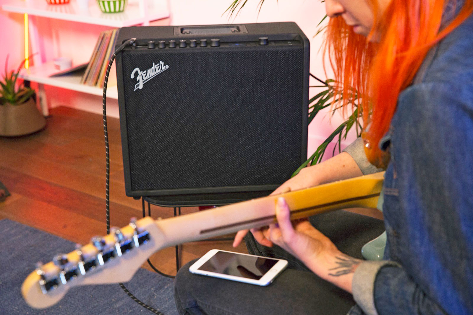 Fender's new guitar amps can be fine-tuned from your phone