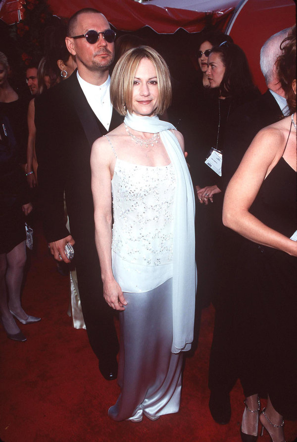 Holly Hunter during The 70th Annual Academy Awards - Red Carpet at Shrine Auditorium in Los Angeles,...