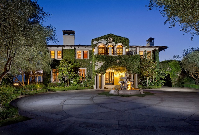 Heidi Klum house Brentwood Estates