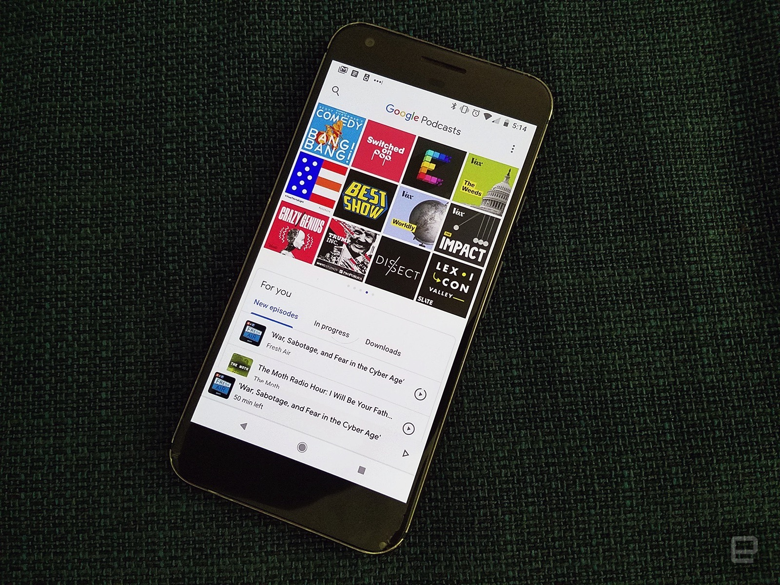 Google launches new Podcast app for Android