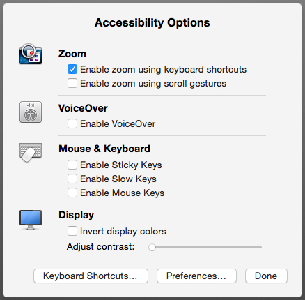 Mac 101: Use zoom to magnify an item on your Mac