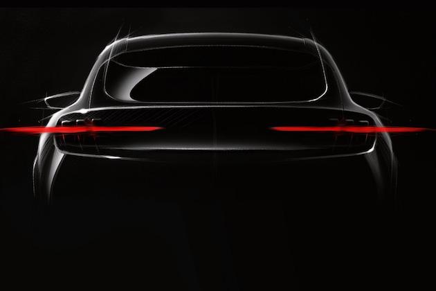 フォード、開発中の電動高性能SUVを描いたスケッチを公開!