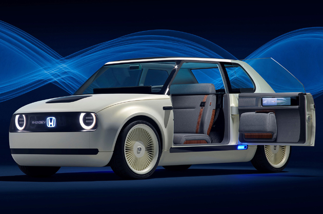 【フランクフルト2017】ついに量産EV登場か!! ホンダがそのベースとなる「Urban EV Concept」をワールドプレミア!!
