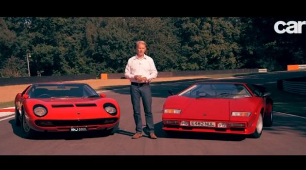 【ビデオ】羨ましすぎる! 英の自動車誌が「ミウラ」と「カウンタック」を乗り比べ