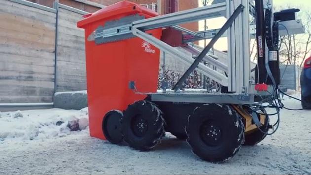 【ビデオ】ボルボ、全自動ごみ回収ロボットの試作機を公開