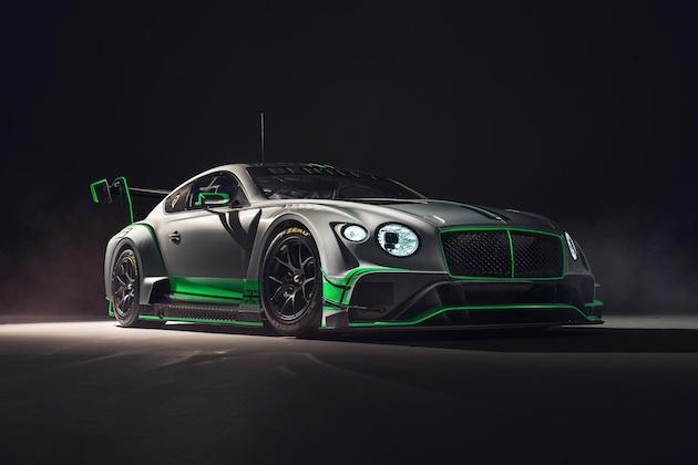 ベントレー、2018年からレースに参戦する新型「コンチネンタル GT3」を発表!