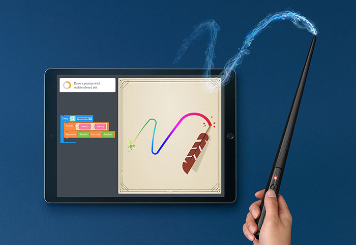 Making magic with the Harry Potter Kano Coding Kit