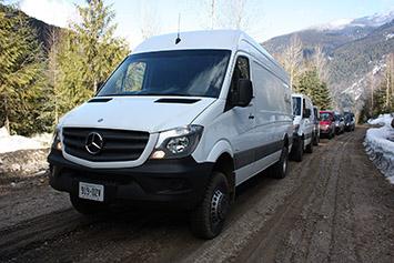 2015 MercedesBenz Sprinter 4x4 First Drive wvideos  Autoblog