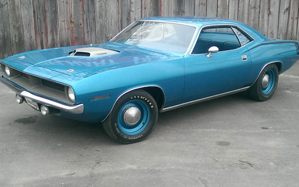 A Plymouth Barracuda Has Sold On EBay For Almost AOL - Ebay classic cars