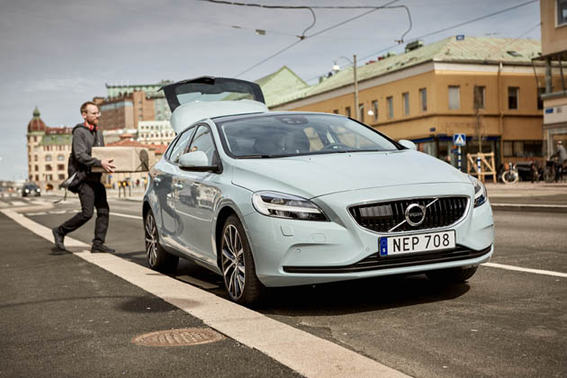 Volvo Cars pioneers two-hour in-car delivery service with Swedish start-up urb-it