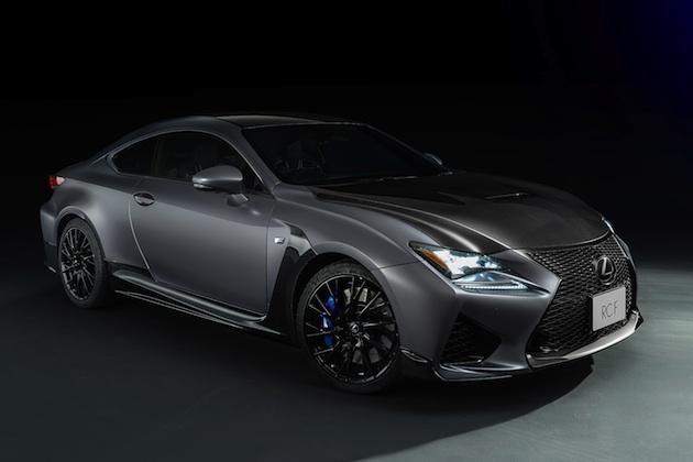 レクサス、「F」モデル誕生10周年を記念して「RC F」と「GS F」の特別仕様車を限定発売