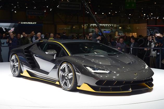 【ジュネーブ・モーターショー】ランボルギーニ、わずか40台の限定モデル「センテナリオ」を発表
