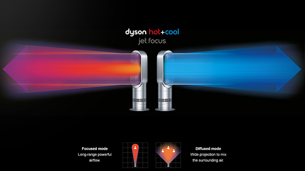冬夏兩用!新版 Dyson Hot+Cool 風扇暖風機登陸香港
