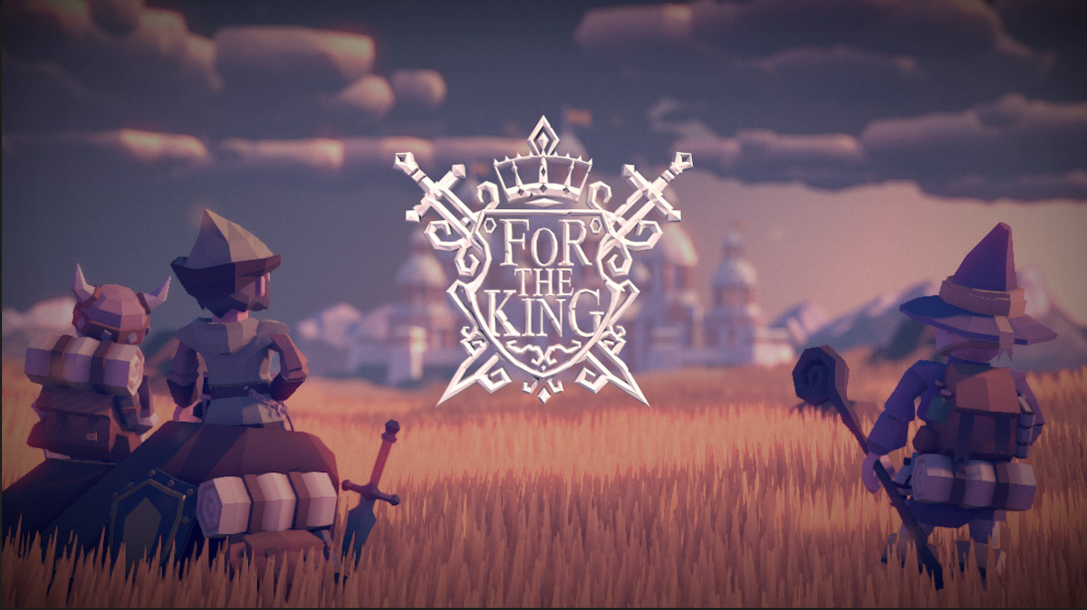 For the King' is a hard, cute co-op game that needs your help