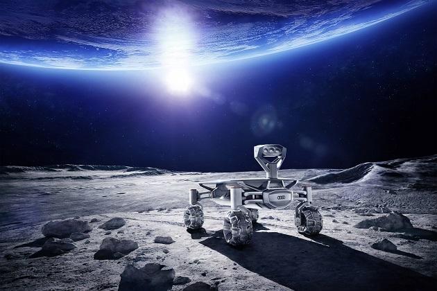 アウディ、月面探査車 ルナ・ク...