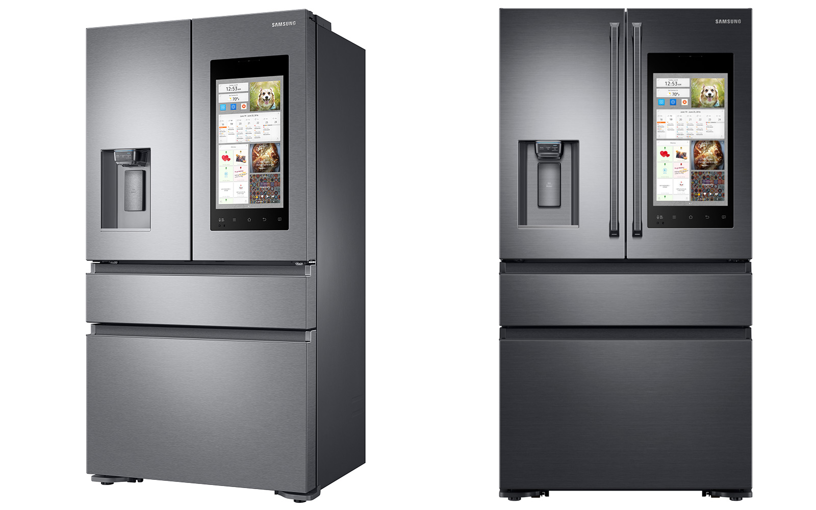 High End Fridges Samsungs Virtual Assistant Might Live In Your Fridge
