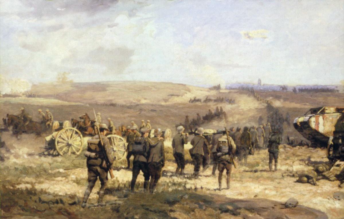 Le 8 août 1918, toile de William