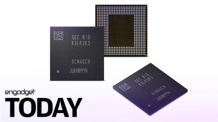 Samsung announces its next-generation DRAM chip | Engadget Today