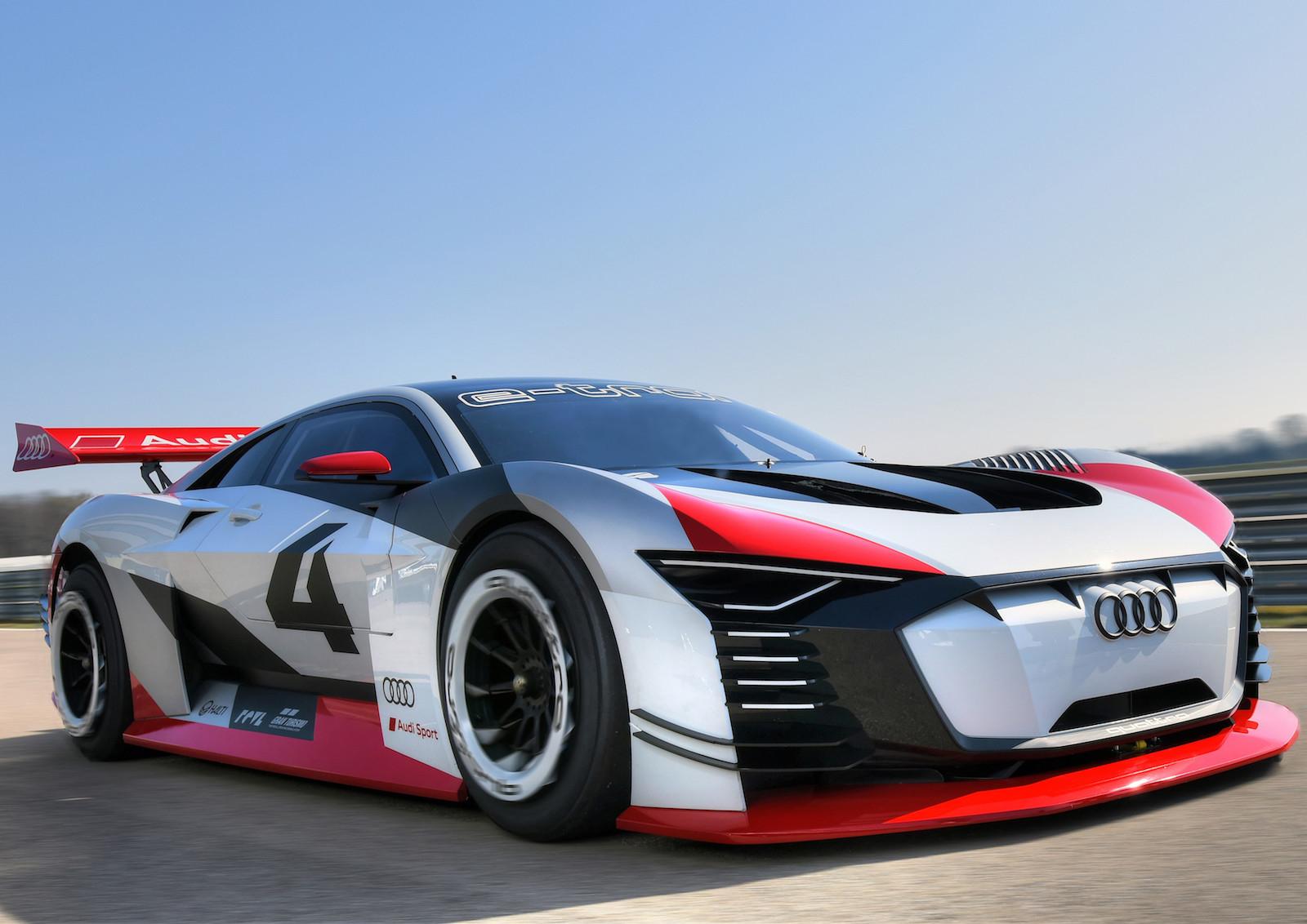 Audi e-tron Vision Gran Turismo PlayStation Formula E