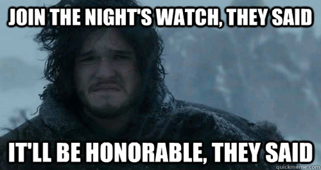 Jon+Snow+Join+Nights+Watch+They+Said game of thrones' finale recap who died, who's blind in 'mother's