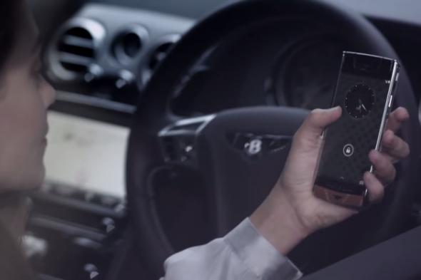 Vertu Bentley phone