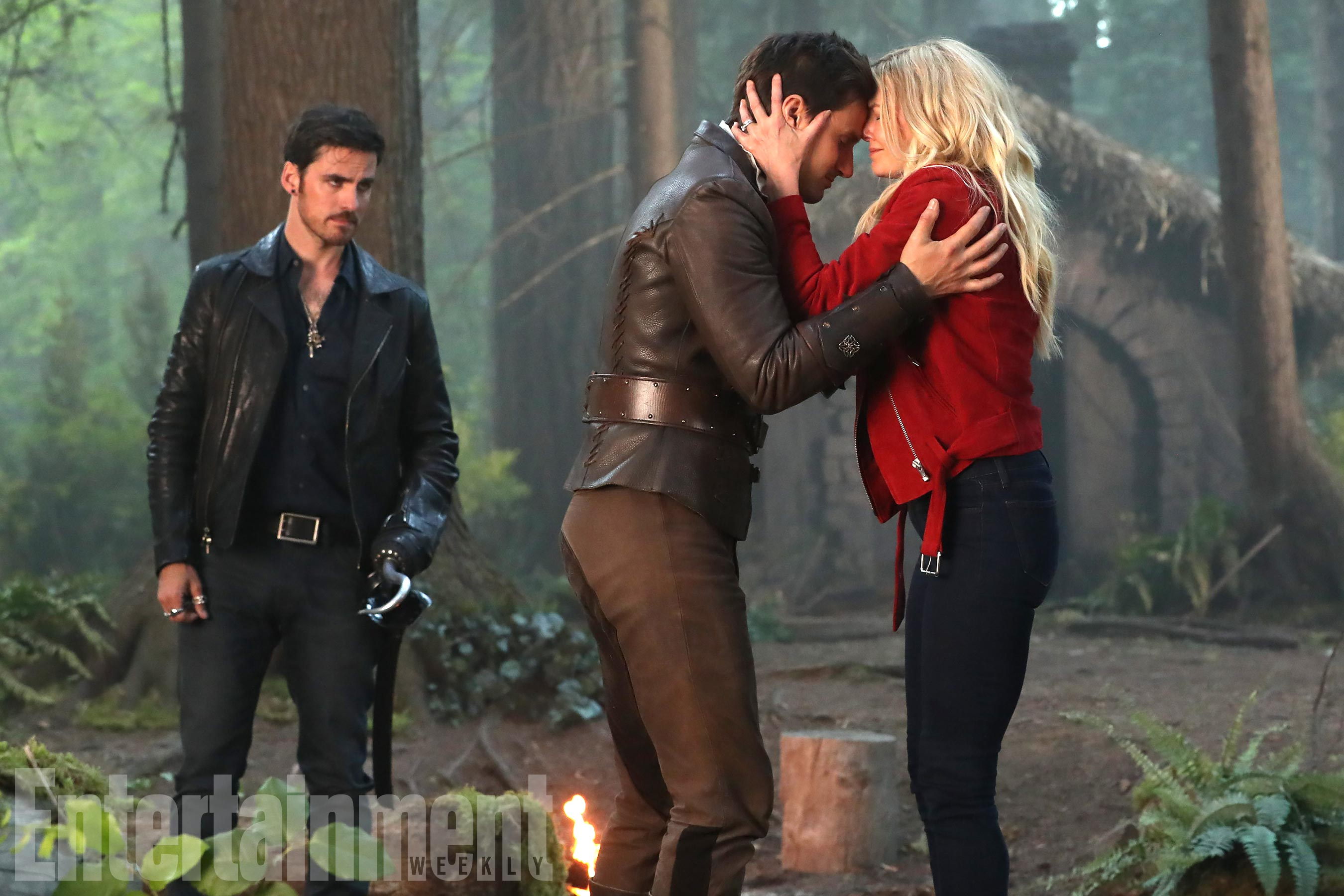 """ONCE UPON A TIME - """"A Pirate's Life"""" (ABC/Jack Rowand)COLIN O'DONOGHUE, ANDREW J. WEST, JENNIFER MORRISON"""